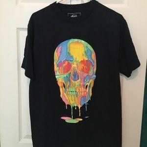 Ecko Unlimited Skull T-Shirt - Black Medium